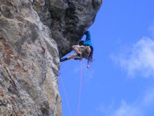 Climbing the Haute Savoie Copyright @ http://fcorpet.free.fr