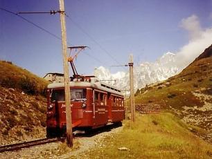 Red Tramway du Mont Blanc