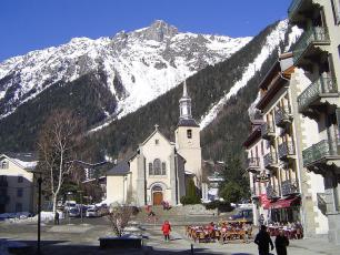 Brevent as seen from Chamonix