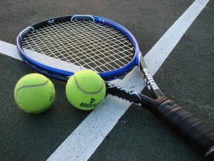 Tennis Racquet Copyright @ Vladsinger