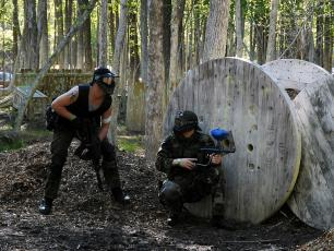 Paintball in Chamonix