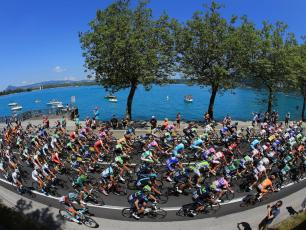 Annecy Tour de France Panorama