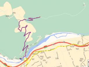 Via Michelin Recommended Route  Copyright @ Parc de Merlet