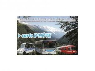 Carte d'Hote in Chamonix - Free Public Transportation