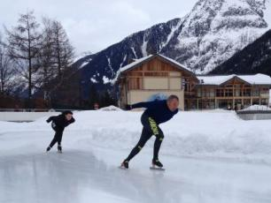 Chamonix Outdoor Ice Rink