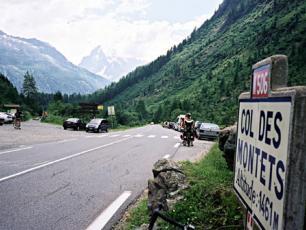 Col des Montets in Chamonix Mont Blanc Valley