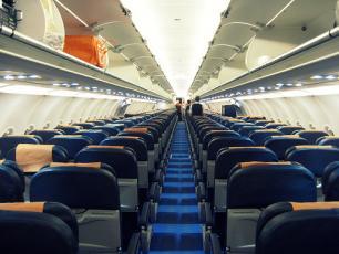 Easy Jet Cabin