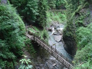Les Gorges de la Diosaz in Servoz, Chamonix Valley