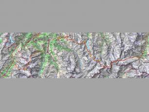 Haute Route Map