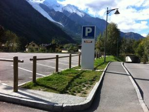Parking Allobroges, Chamonix