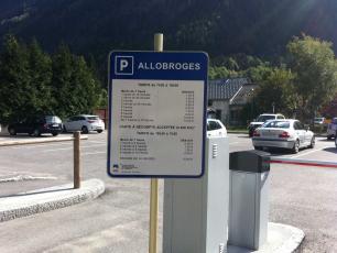 Parking in Chamonix