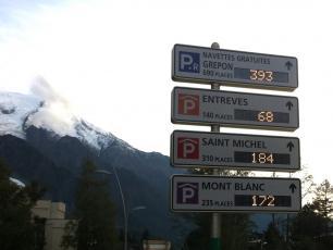 Chamonix Car Parks