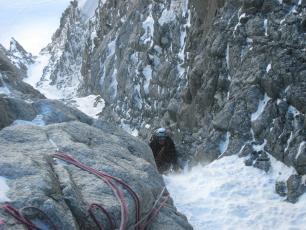 Chamonix Alpinisme Hivernal- Mont Blanc du Tacul
