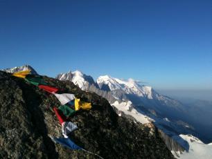 Mont Blanc massif: Aiguille du Tour and Mont  Blanc