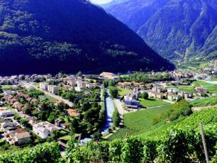 Мартиньи, Швейцария