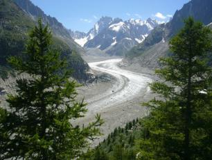 Mer de Glace and Montenvers Train in Chamonix