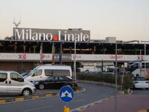 Milan Linate Airport front view
