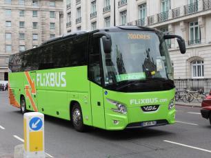 Flixbus bus, photo taken from https://www.flickr.com/photos/34085730@N06/