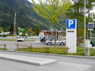 Mediatheque Parking, Chamonix