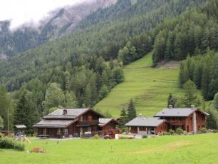 Refuge Relais d'Arpette: Mountain Hut on the Mont Blanc Tour (Refuge in Switzerland)