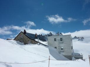 Trient Refuge: Haute Route Refuge in Switzerland (Chamonix - Zermatt Route)