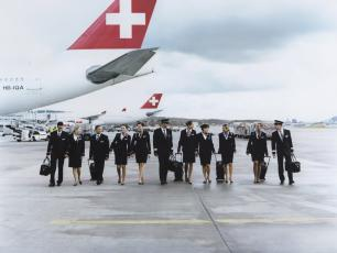 Swiss Airline Crew