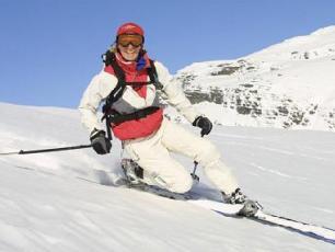 Telemark in the Chamonix Mont Blanc Valley