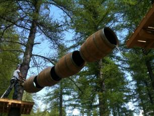 Adventure Parks in the Chamonix Valley: Accro Park