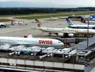 Airline Companies at Geneva Airport