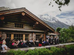 Getting married in Chamonix, French Alps