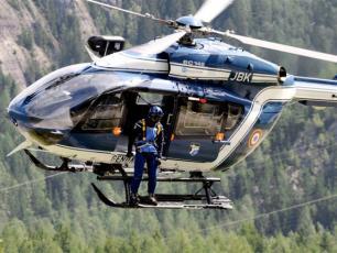 The PGHM Chamonix, mountain rescue