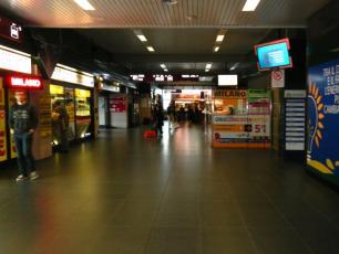 Bergamo Orio al Serio Shuttle Tickets Desk