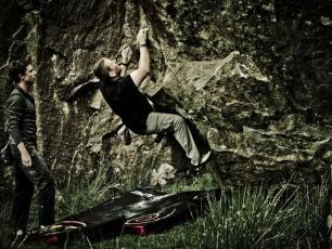 Bouldering in Chamonix