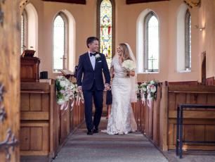 Mariage à Chamonix, Église
