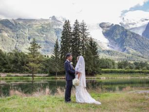 Mariage à Chamonix, Alpes françaises