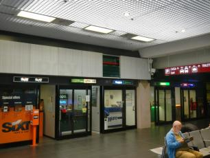 Sixt, AutoeEuropa, Dollar,Thrifty, Maggiore, National, Europcar, Avis and Buget Car Hire Companies Bergamo Airport