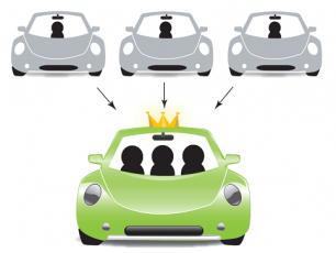 Carpooling Chamonix