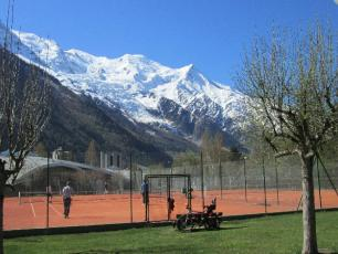 Tennis in Chamonix