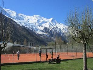 Tennis centre a Chamonix