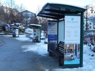 La station bus Chamonix Mont Blanc