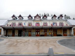 Chamonix Main Rail Station where Eurolines Stop