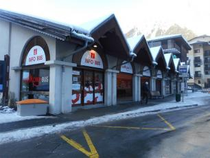 Chamonix Bus Station welcomes buses from Geneva to Chamonix