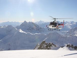 HéliSki sur la Vallée de Chamonix Mont Blanc