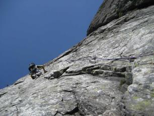 Escalade à Chamonix