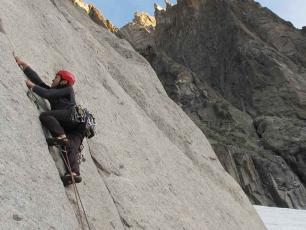 Rock Climbing in Chamonix