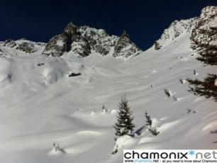 La Combe Lachenal, La Flégère en Chamonix Mont-Blanc