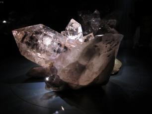 Crystals in Chamonix at the Espace Tairraz
