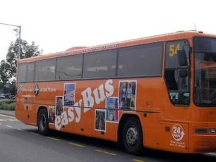 Easybus Coach Bus from Geneva to Chamonix