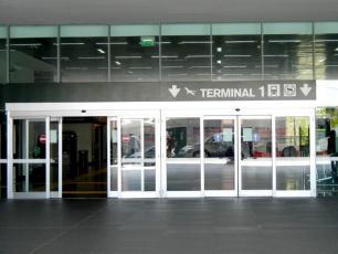 Entrance Terminal 1 Malpensa Airport
