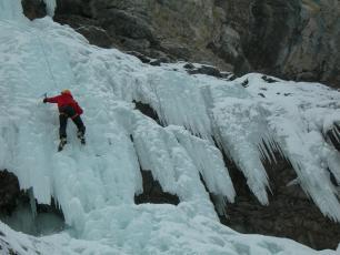 Cascade de Glace - Trient, Suisse